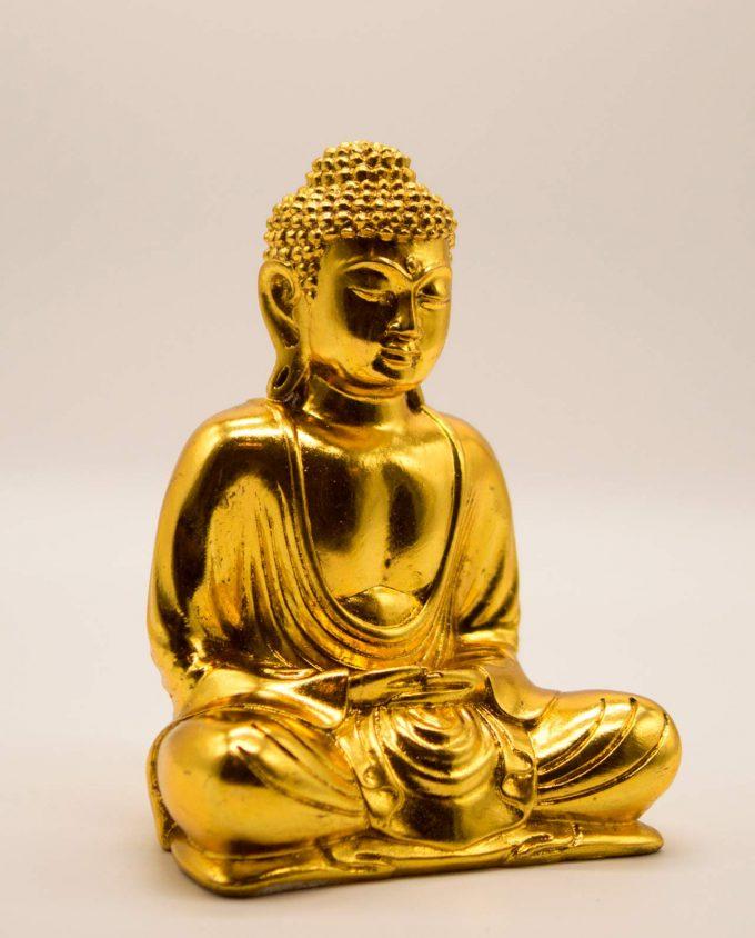 Βούδας ρητίνη ύψος 20 cm χρυσό