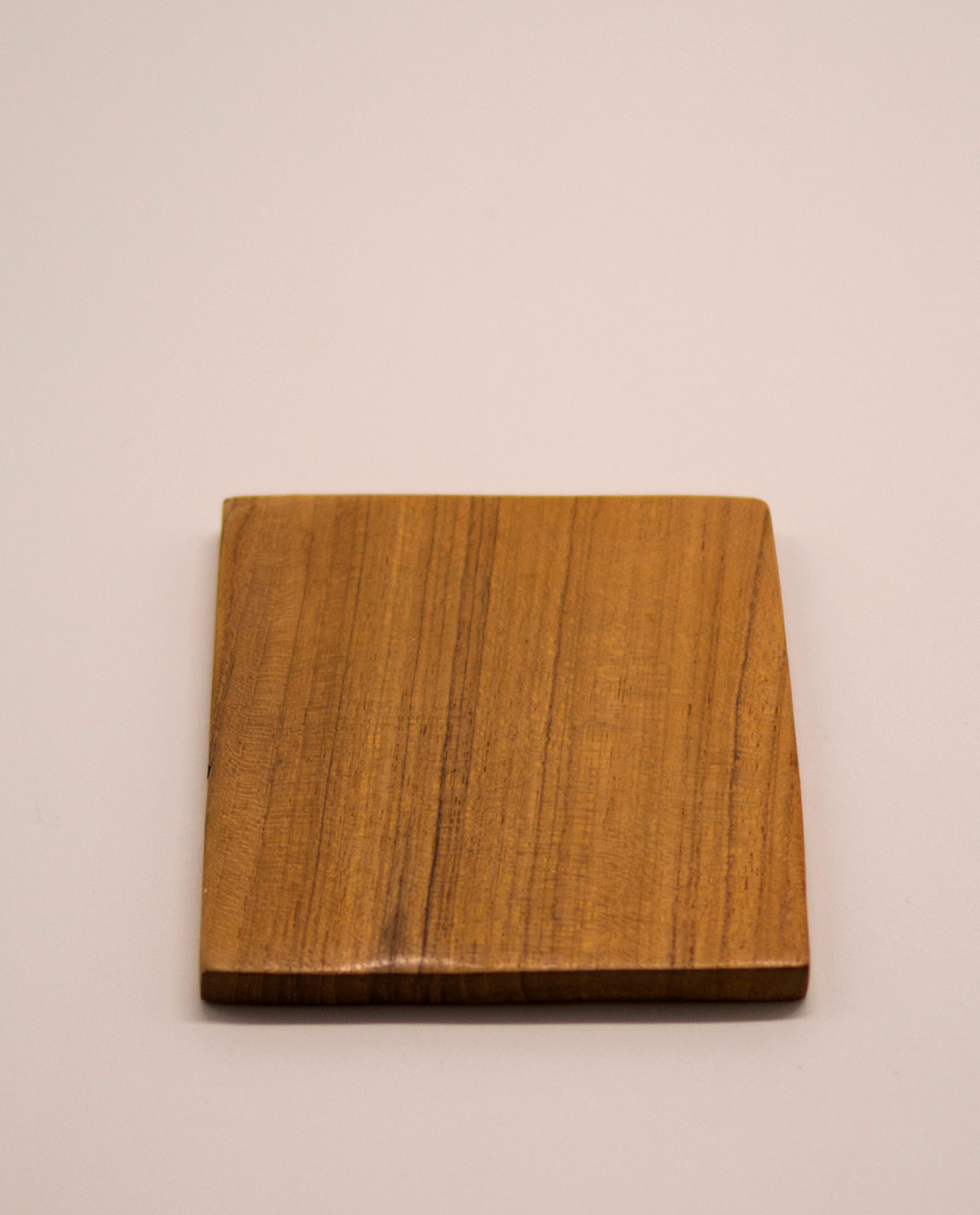 Σουβέρ Τικ ξύλο τετράγωνο 10 cm χ10 cm