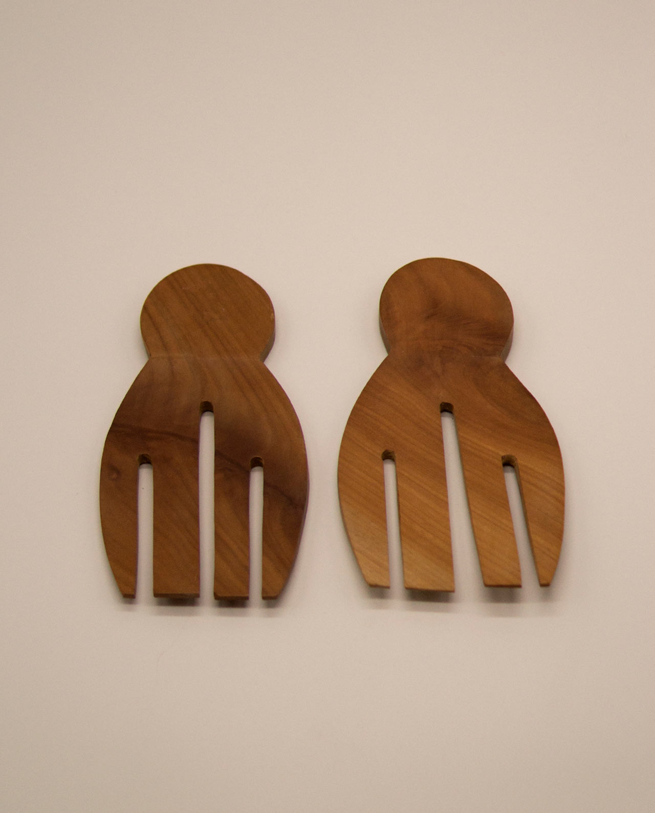 """Πηρούνες ξύλινες """"Hands"""" Σετ 2 τεμαχίων"""
