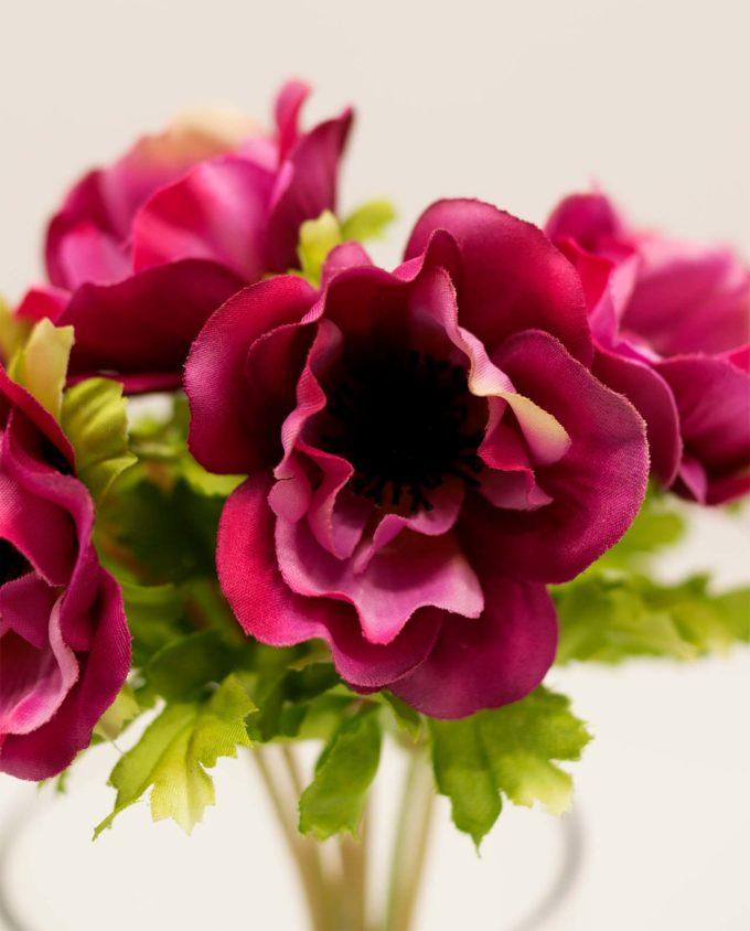 Μπουκέτο με ροζ Ανεμώνες