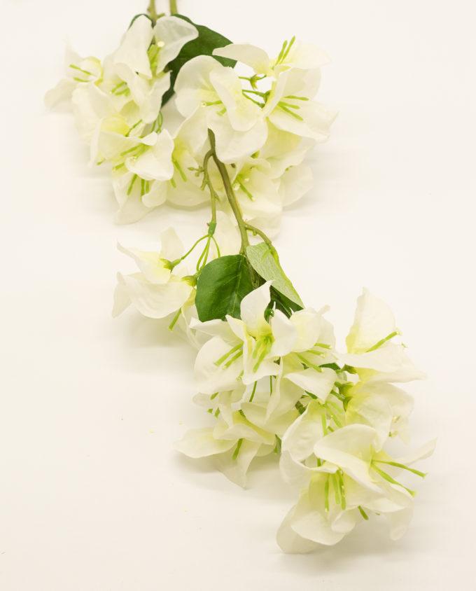 Bugainvillea white fabric