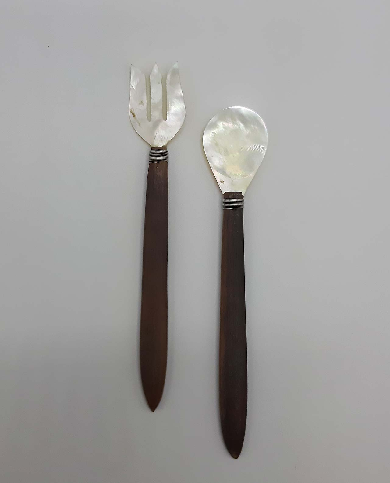Spoon & Fork Mother of Pearl Set 2 pieces