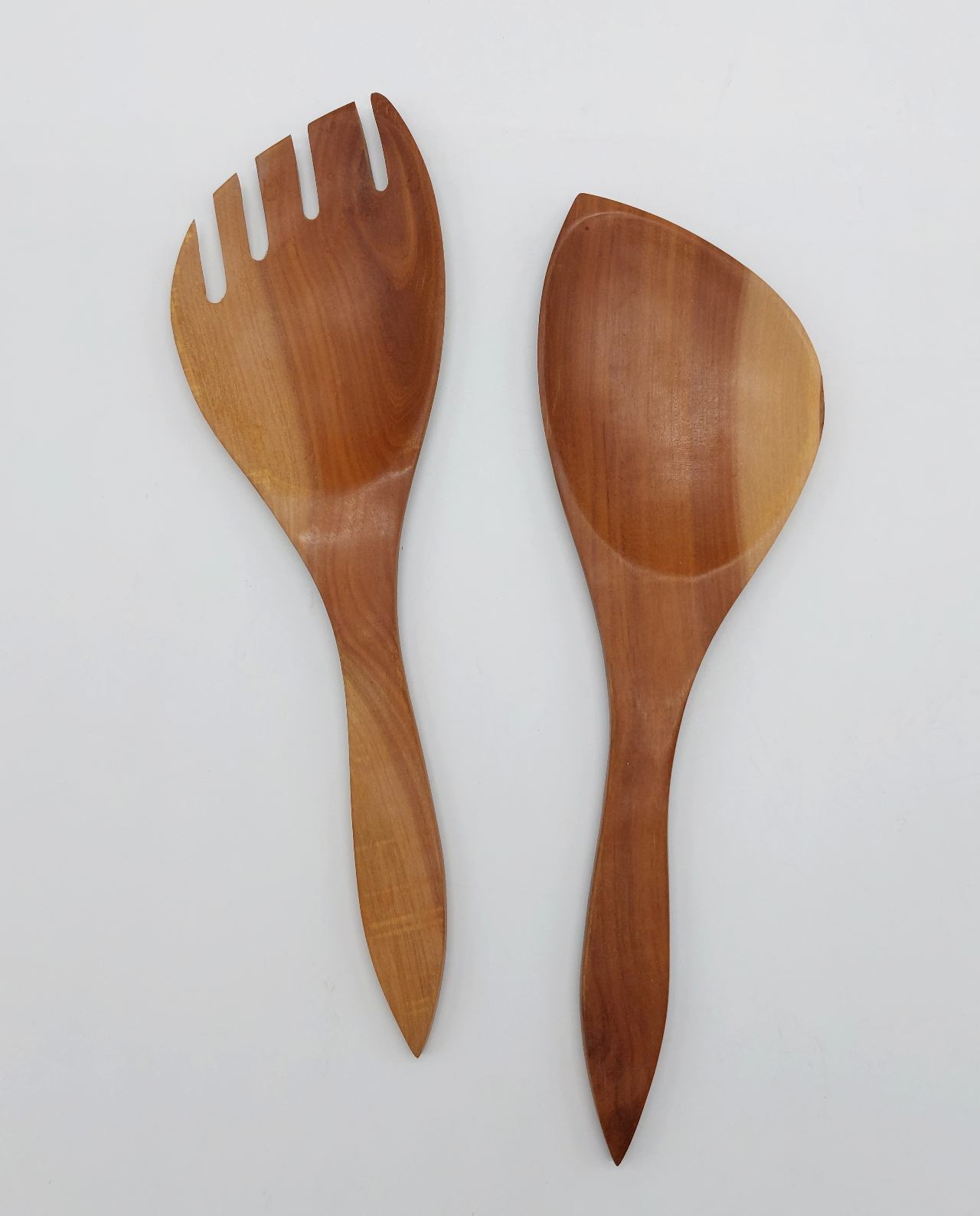 Fork & Spoon Wooden Set 2 pieces