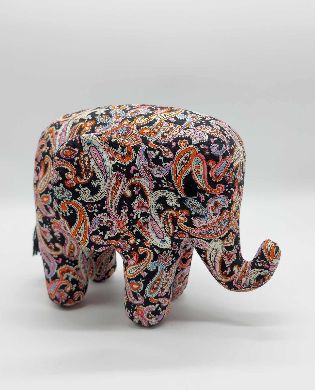 Elephant Handmade Batik Fabric Big