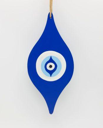 """Evil eye """"Baroque"""" wooden handmade length 25 cm"""