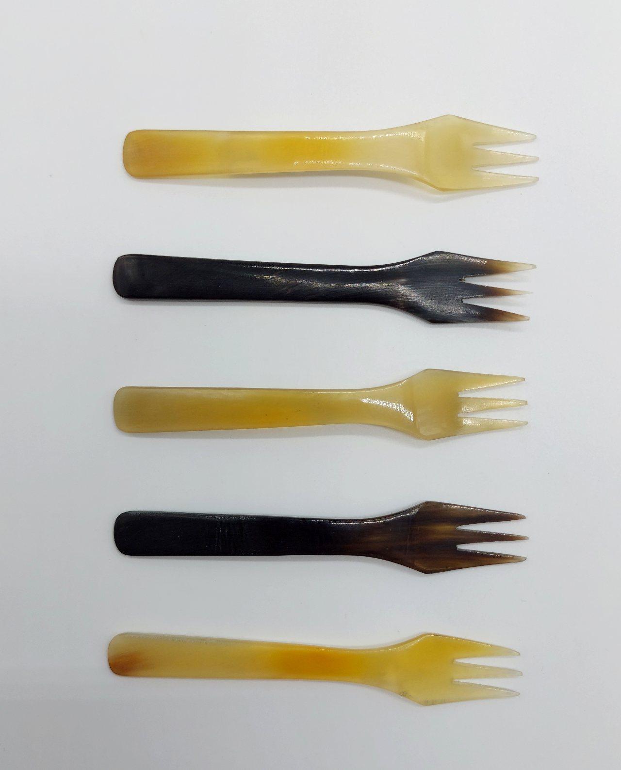 Forks Bone Set 5 pieces Length 12 cm