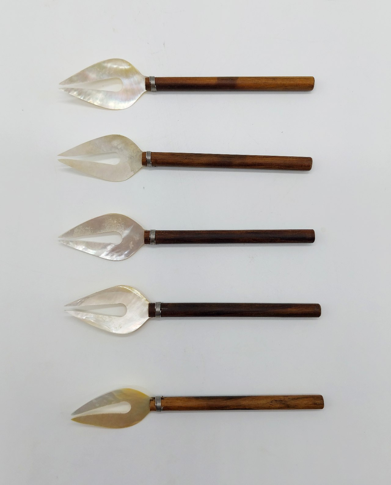 Forks Mother of Pearl Set 5 pieces