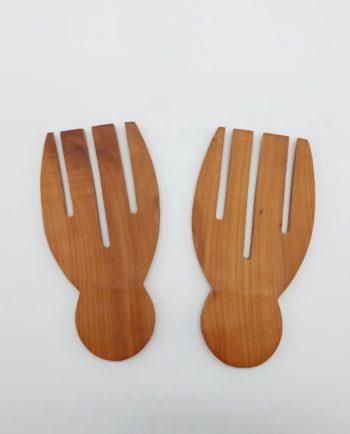 "Forks Wooden ""Hands"" Set of 2 pieces"