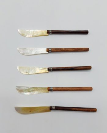 Knifes Mother of Pearl Set 5 Pieces
