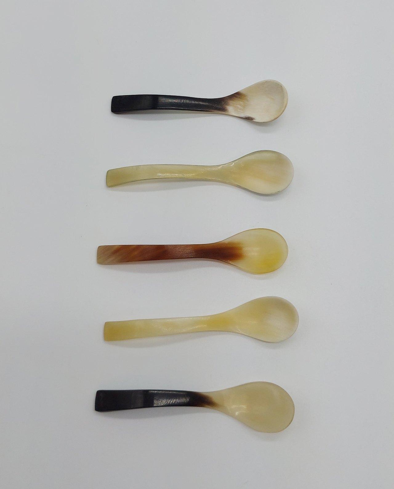 "Spoons Bone Bent ""Espresso"" Set 5 pieces"
