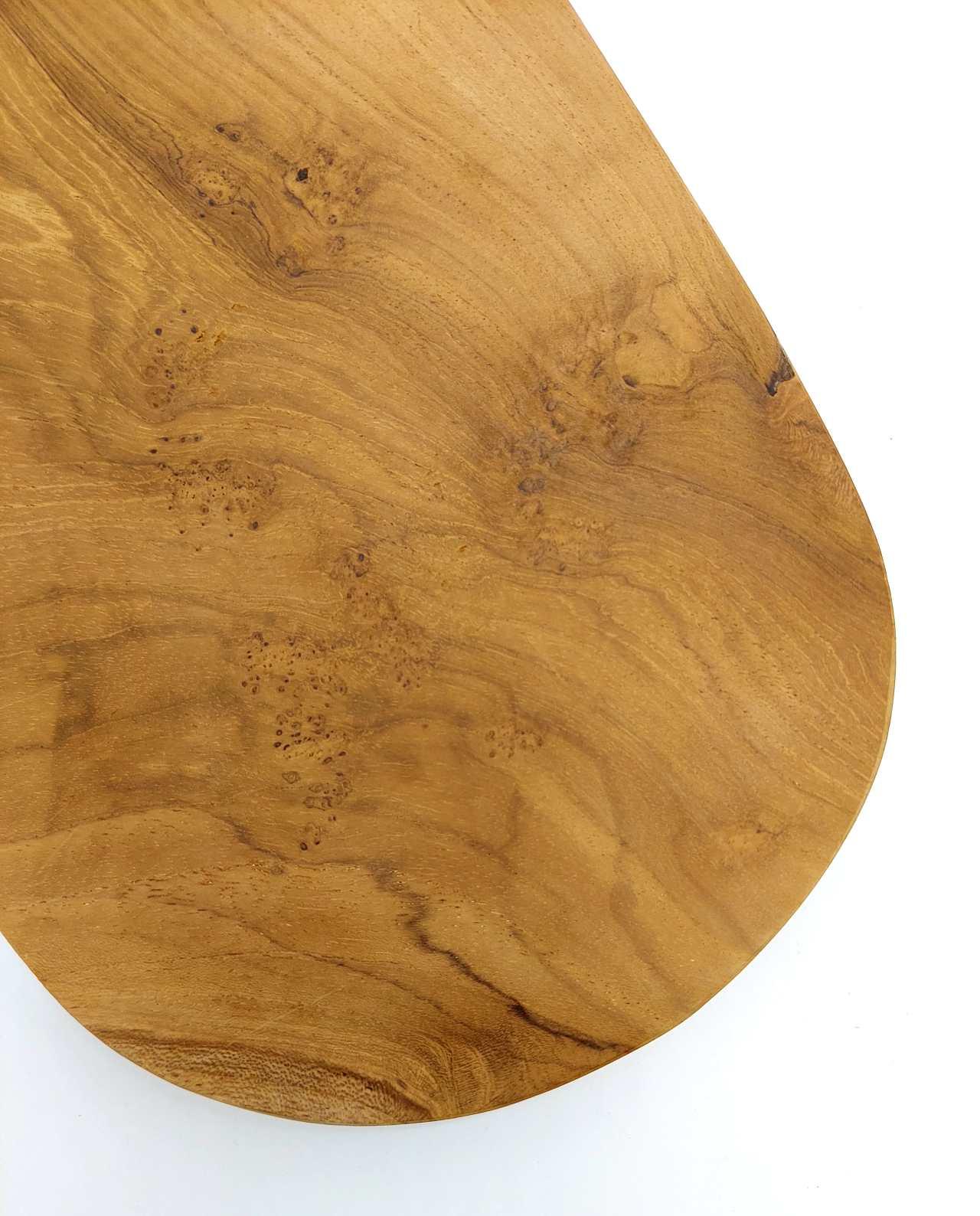 Teak Wood Cutting Board Length 32 cm