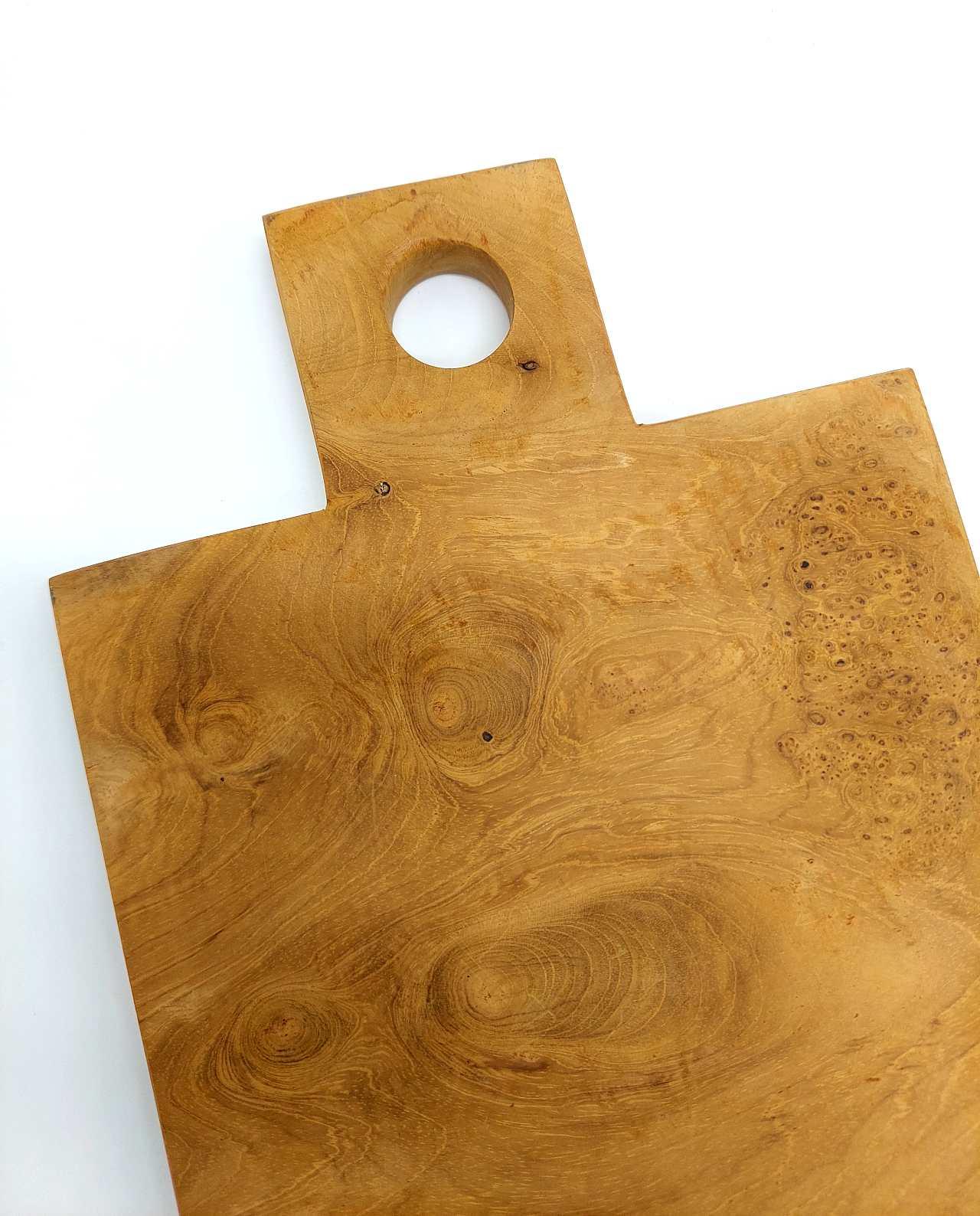 Teak Wood Cutting Board Length 31 cm