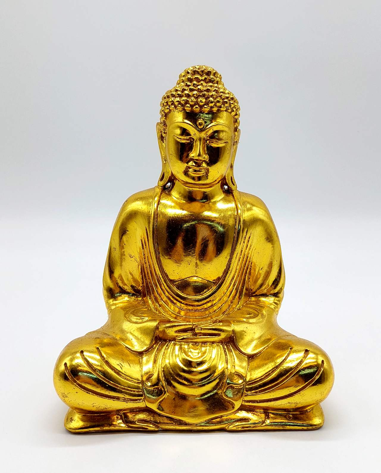 Buddha Resin height 20cm gold