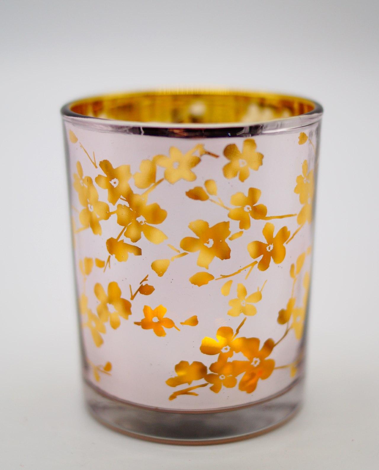 Φαναράκια Ρεσώ Λιλά Γιαπωνέζικα Λουλούδια Σετ 2 Τεμάχια