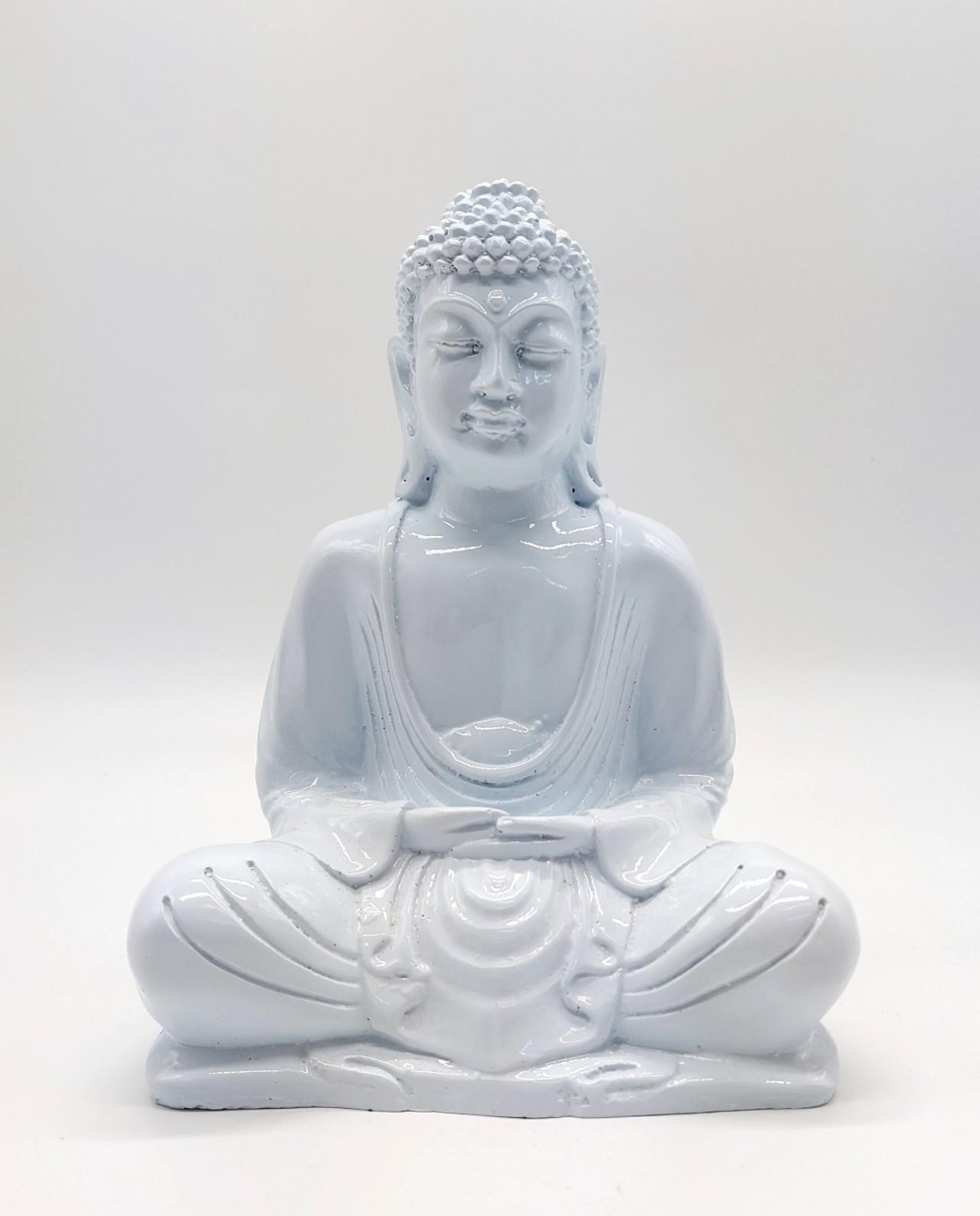 Buddha Resin height 20cm white