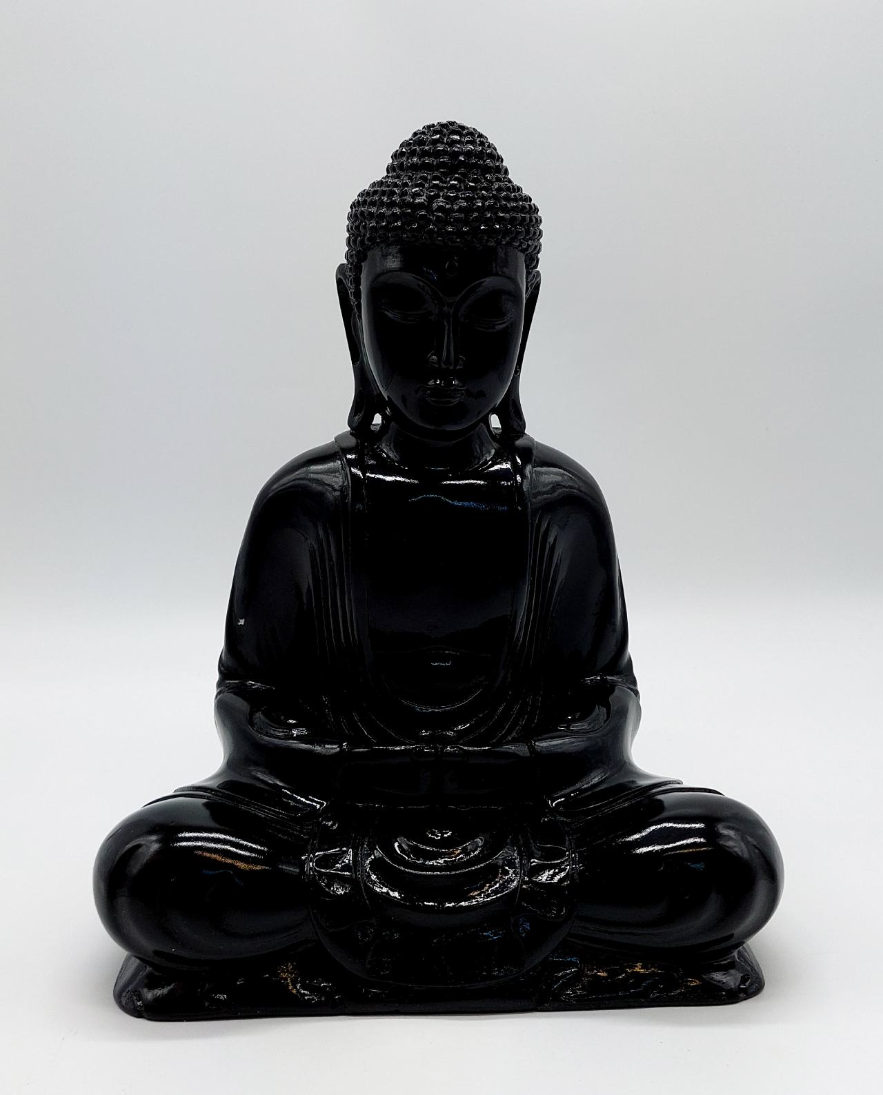 Buddha Resin height 30cm black