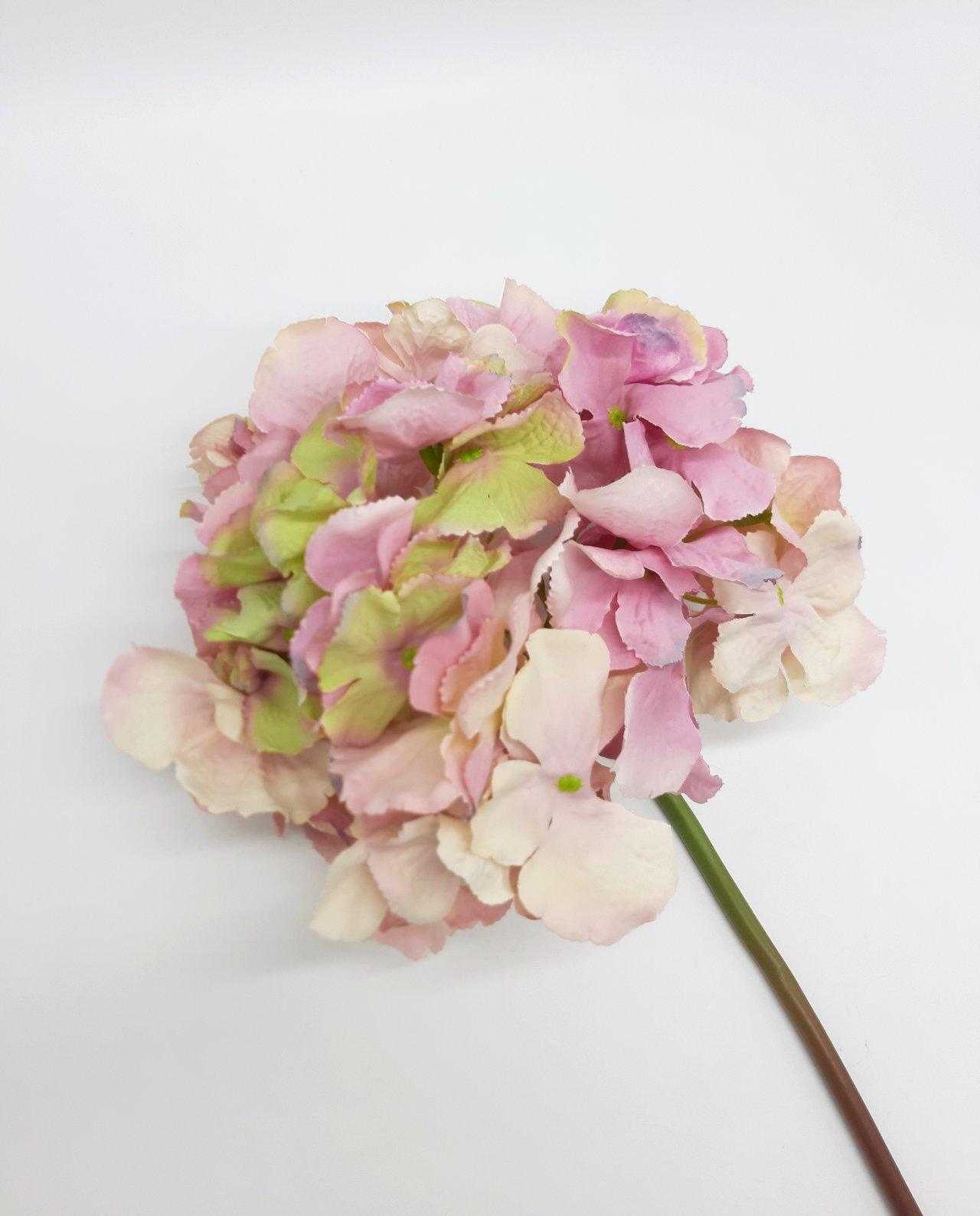 Ορτανσία ροζ υφασμάτινη