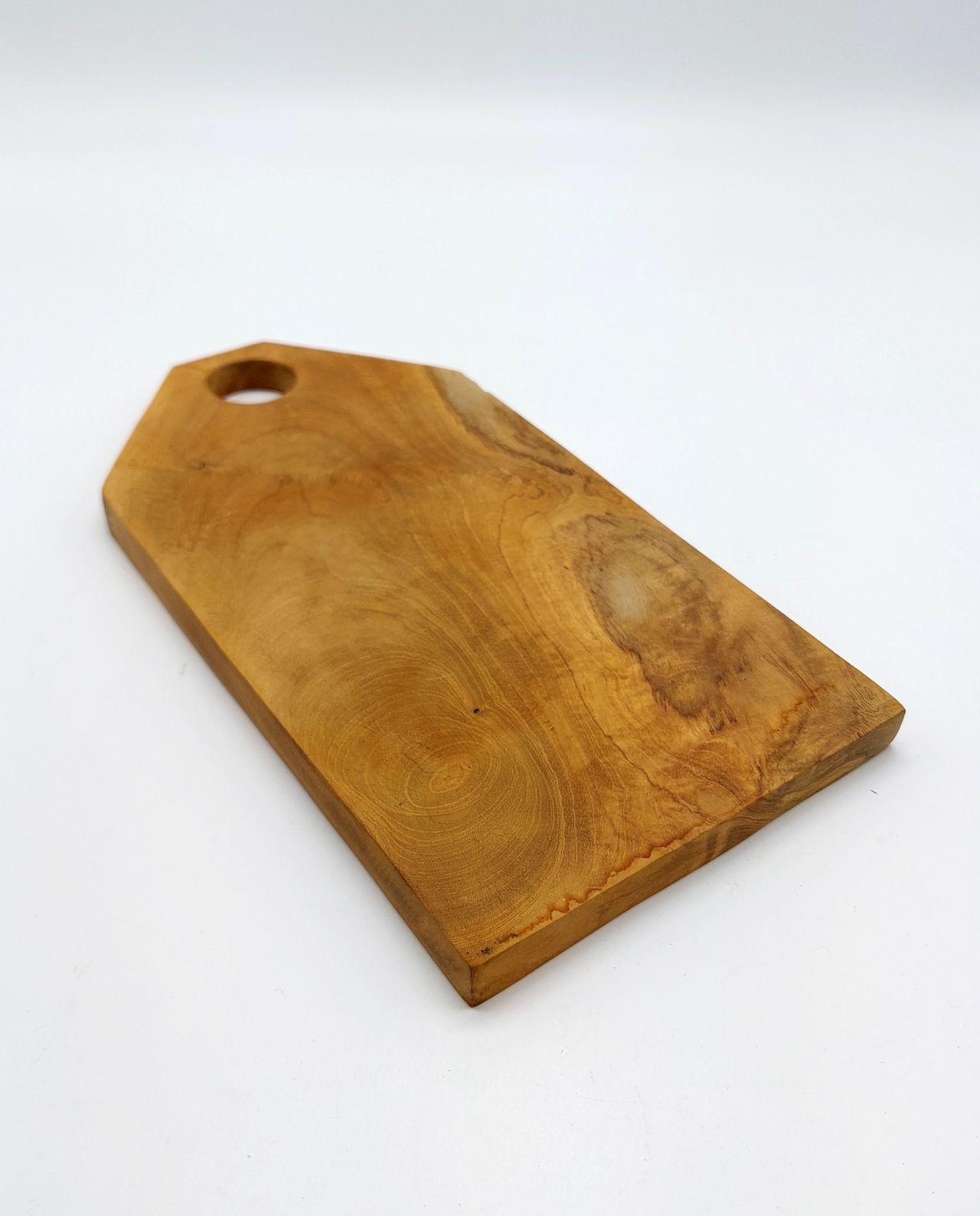Teak Wood Cutting Board Length 30.5 cm